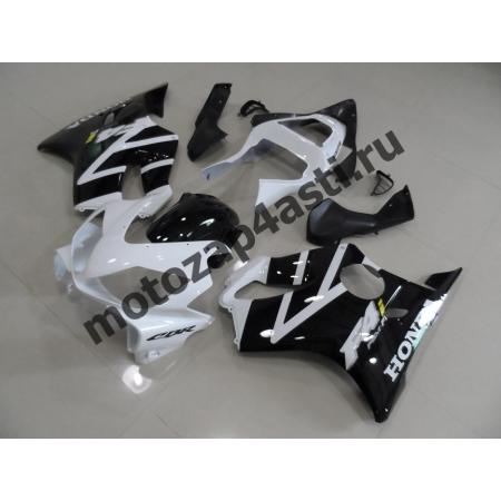 Комплект пластика для мотоцикла Honda CBR600 F4i 01-07 Бело-черный.
