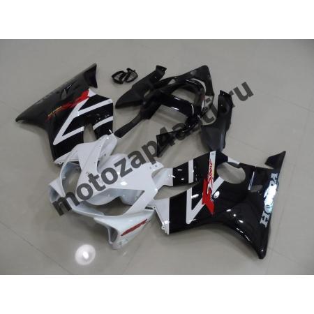 Комплект пластика для мотоцикла Honda CBR600 F4i 01-07 Бело-черный-2.