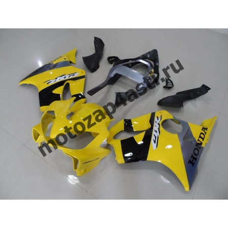 Комплект пластика для мотоцикла Honda CBR600 F4i 01-07 Желто-серый-1.