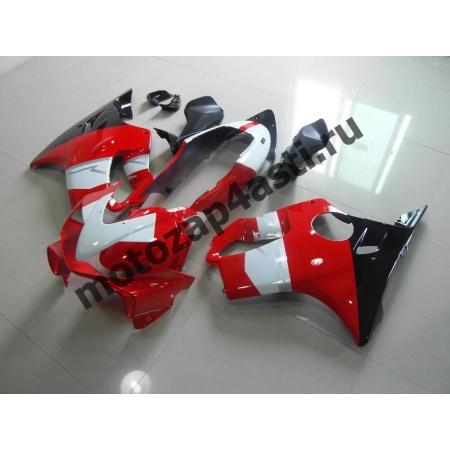 Комплект мотопластика Honda CBR600 F4i 01-07 Бело-красно-Черный.