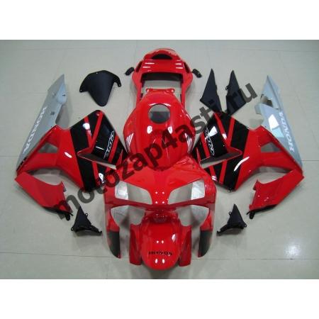 Комплект Мотопластика Honda CBR600RR 03-04 Красно-Черно-Серый