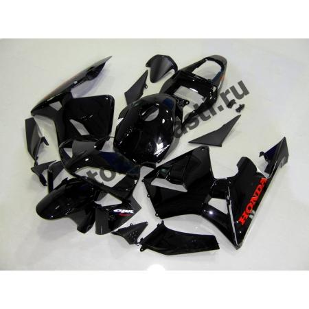 Комплект Мотопластика Honda CBR600RR 03-04 Черный Глянцевый