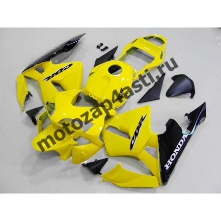 Комплект Мотопластика Honda CBR600RR 03-04 Желтый
