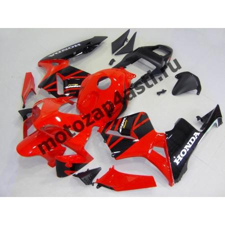 Комплект Мотопластика Honda CBR600RR 03-04 Красно-черный -1.