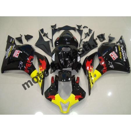 Комплект Мотопластика Honda CBR600RR 07-08 RedBULL черный