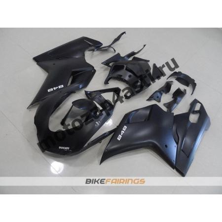 Комплект пластика DUCATI 848 1098 1198 Черный матовый.
