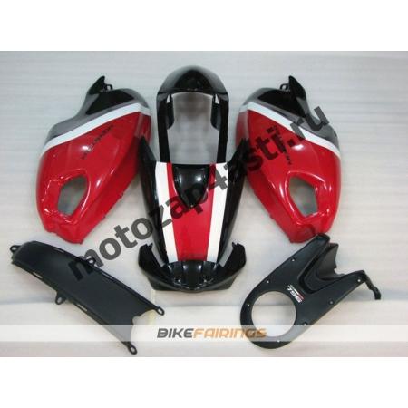 Комплект пластика DUCATI 696 797 1100 1100S Черно-бело-красный-1.