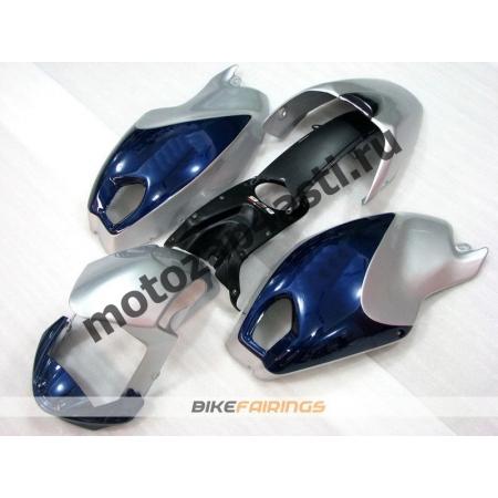 Комплект пластика DUCATI 696 797 1100 1100S Серебристо-синий.