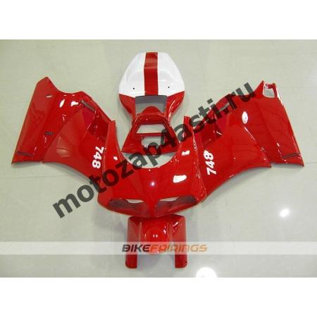 Комплект пластика DUCATI 748 916 996  Красный-1.
