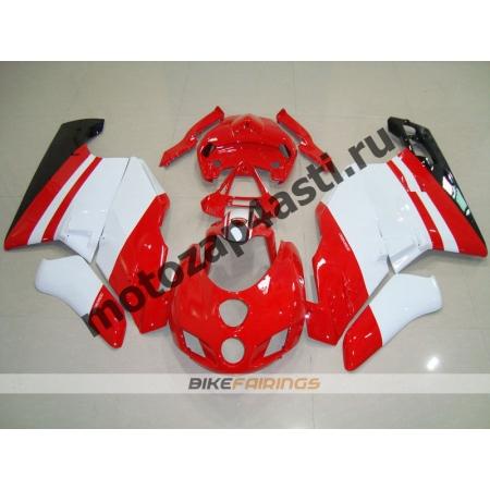 Комплект пластика DUCATI 748 916 996  Красно-белый.