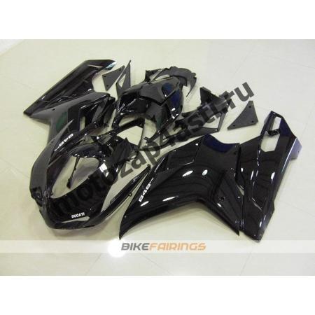 Комплект пластика DUCATI 848 1098 1198 Черный.