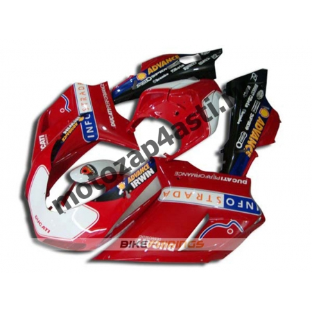 Комплект пластика DUCATI 848 1098 1198 INFOSTRADA.