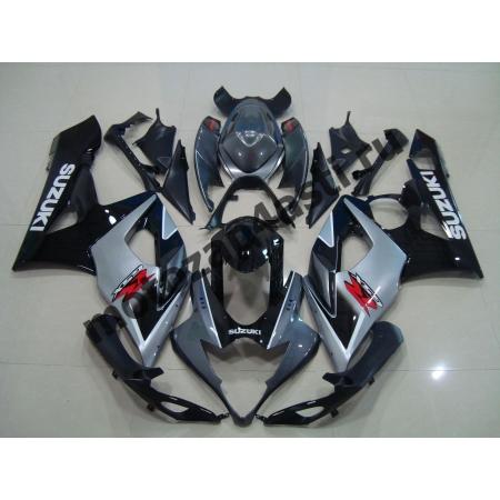 Комплекты пластика Suzuki GSXR1000 05-06 Штатный Серо-Черный