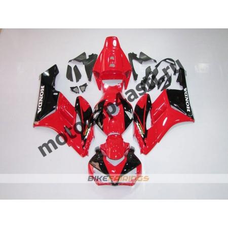 Комплект пластика Honda CBR1000RR 2004-2005 Красно-Черный-2.