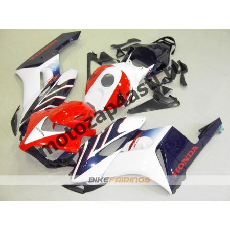 Комплект пластика Honda CBR1000RR 2004-2005 Стоковый красно-бело-синий-1.