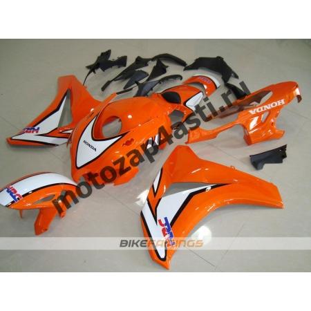 Комплекты пластика Honda CBR1000RR 2008-2011 Оранжево-белый.