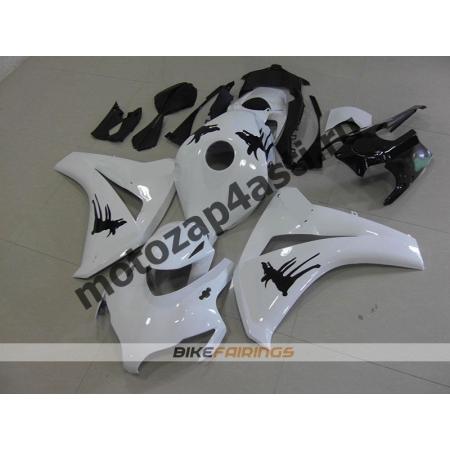 Комплекты пластика Honda CBR1000RR 2008-2011 Бело-Черный-2.