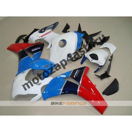 Комплекты пластика Honda CBR1000RR 2008-2011 Бело-красно-синий.