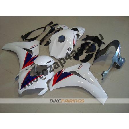 Комплекты пластика Honda CBR1000RR 2008-2011 Бело-красно-синий-2.