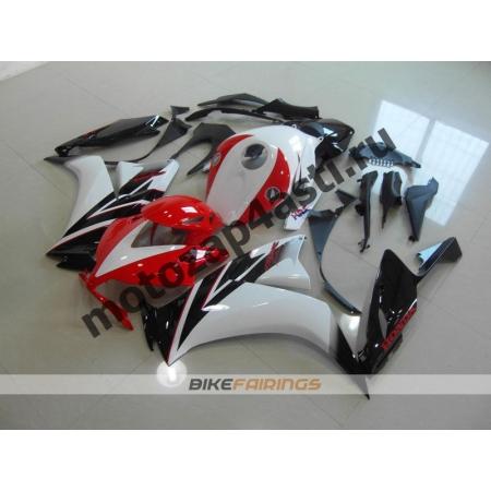 Комплекты пластика Honda CBR1000RR 2012-2014 Черно-Бело-Красный.