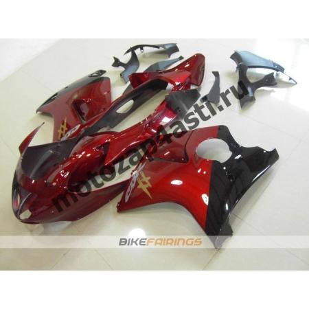 Комплекты пластика Honda CBR1100XX Красно-черный.