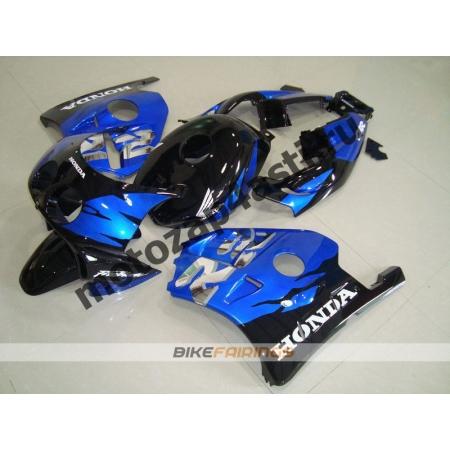 Комплект Мотопластика Honda CBR250 MC22 Черно-Синий-1.