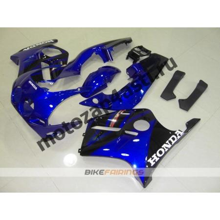 Комплект Мотопластика Honda CBR250 MC22 Черно-Синий-3.