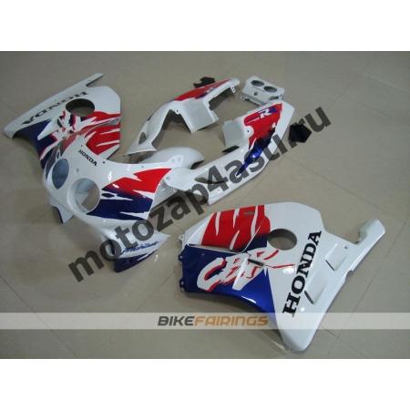 Комплект Мотопластика Honda CBR250 MC22 Бело-Красно-Синий-1.