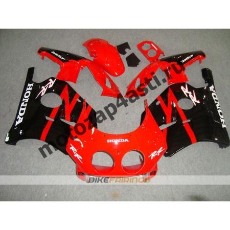 Комплект Мотопластика Honda CBR250 MC22 Черно-Красный-2.