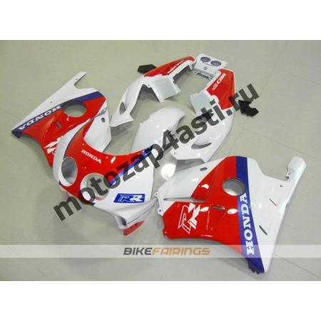 Комплект Мотопластика Honda CBR250 MC22 Бело-Красно-Синий-3.