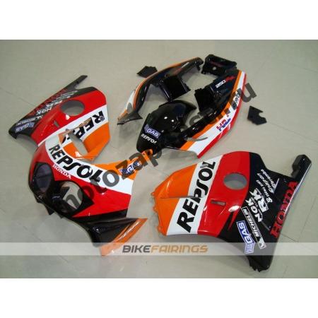 Комплект Мотопластика Honda CBR250 MC22 REPSOL.