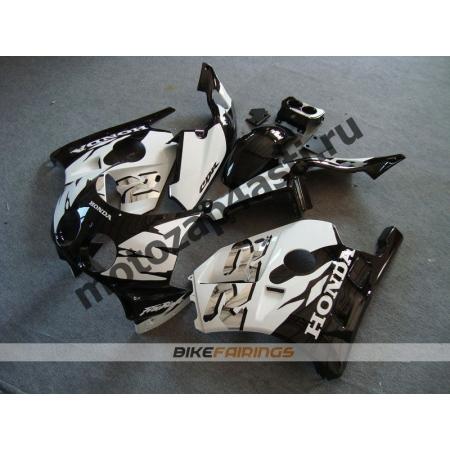 Комплект Мотопластика Honda CBR250 MC22 Черно-Белый-2.