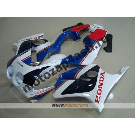 Комплект Мотопластика Honda CBR250 MC19 Бело-Синий.
