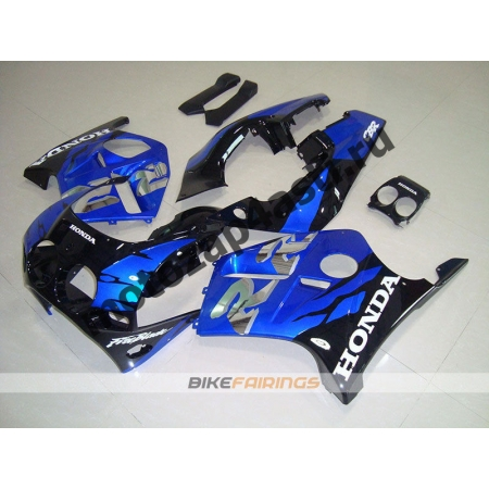 Комплект Мотопластика Honda CBR250 MC19 Черно-Синий.