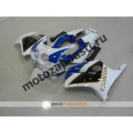 Комплект Мотопластика Honda CBR250 MC19 Бело-Черно-Синий.