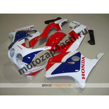 Комплект Мотопластика Honda CBR250 MC19 Бело-Красно-Синий.