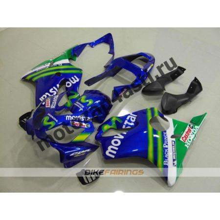 Комплект мотопластика Honda CBR600 F4i 01-07 MOVISTAR.