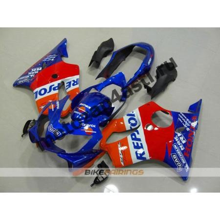 Комплект пластика для мотоцикла Honda CBR600 F4i 01-07 Repsol-4.