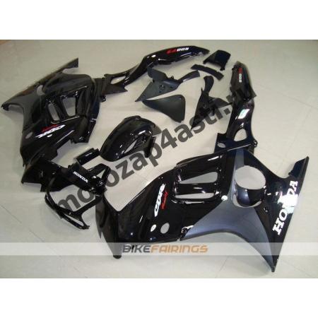 Комплект мотопластика Honda CBR600F3 97-98 Черно-Серый.