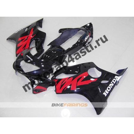 Комплект пластика Honda CBR600F4 98-00 Черно-Красный-1.
