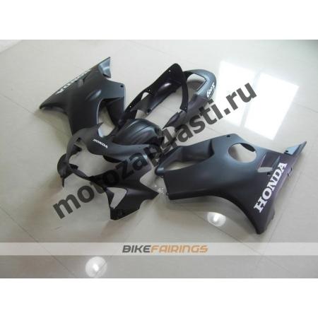 Комплект пластика Honda CBR600F4 98-00 Черный матовый-2.