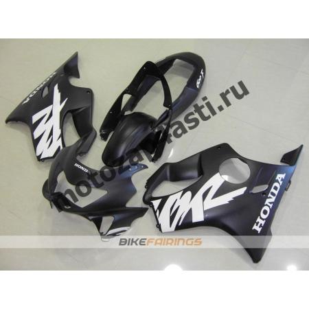 Комплект пластика Honda CBR600F4 98-00 Черный матовый-1.