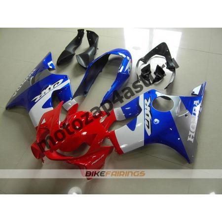 Комплект пластика Honda CBR600F4 98-00 Красно-Сине-Белый.