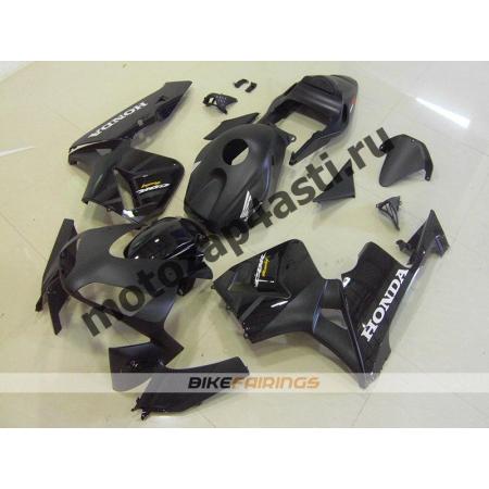 Комплект Мотопластика Honda CBR600RR 03-04 Черный матовый.