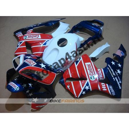 Комплект Мотопластика Honda CBR600RR 03-04 CASTROL STAR.