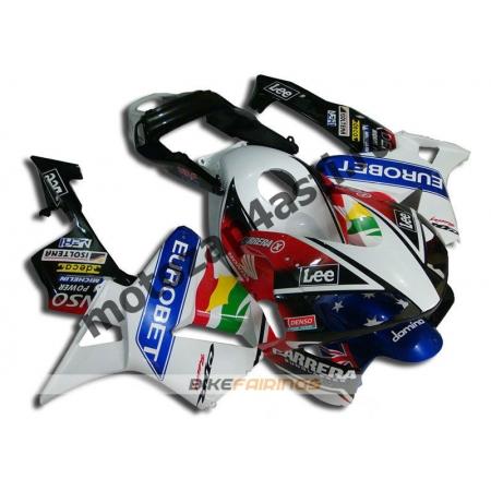 Комплект Мотопластика Honda CBR600RR 03-04 EUROBET.