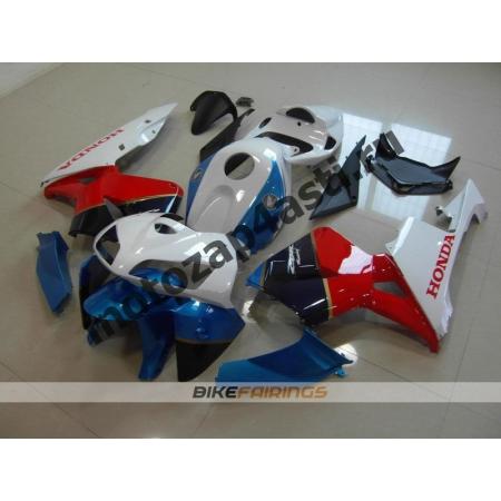 Комплект Мотопластика Honda CBR600RR 05-06 Бело-красно-синий-1.