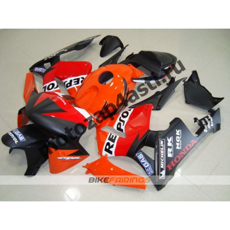 Комплект Мотопластика Honda CBR600RR 05-06 Repsol-4.