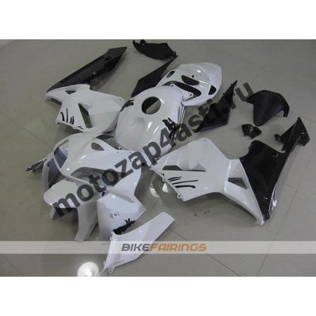 Комплект Мотопластика Honda CBR600RR 05-06 Бело-Черный-2.