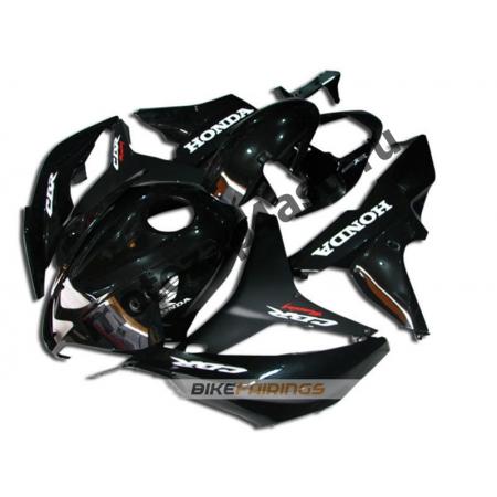 Комплект Мотопластика Honda CBR600RR 07-08 Черный.